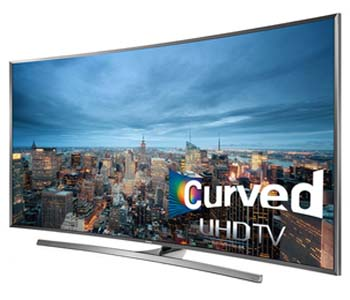 Samsung 40 inch Curved 4K UHD Smart LED TV 40JU7500