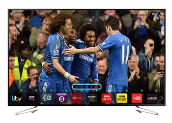 Samsung 40 inch Smart 3D LED TV (40H6200)