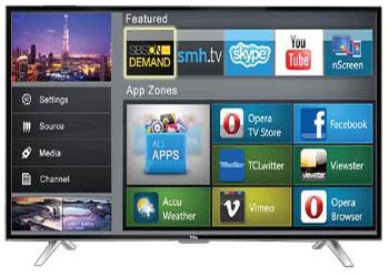 Tcl 40 Inch Smart Led Tv 40s4700 40 Watt Price In