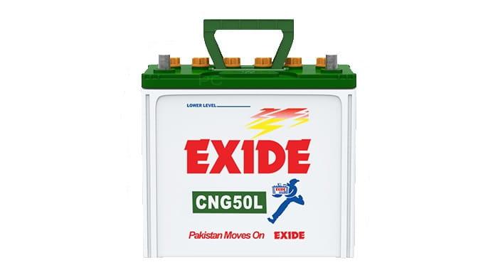 Exide CNG50L Battery