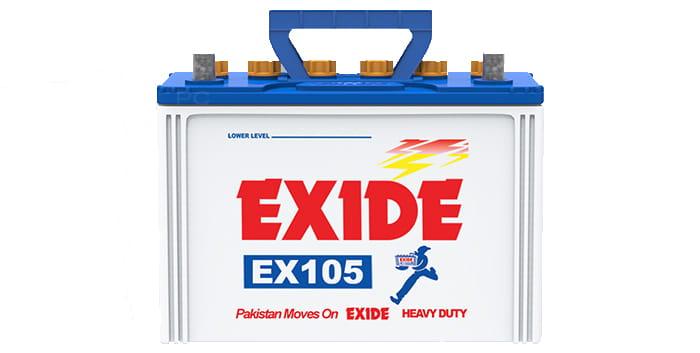 Exide EX105 Battery