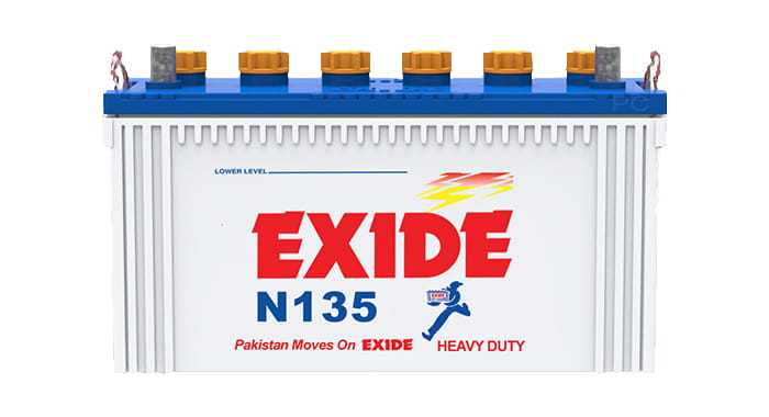 Exide N135 Battery