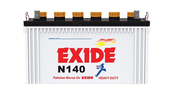 Exide N140 Battery