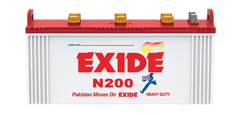 Exide N200 Battery