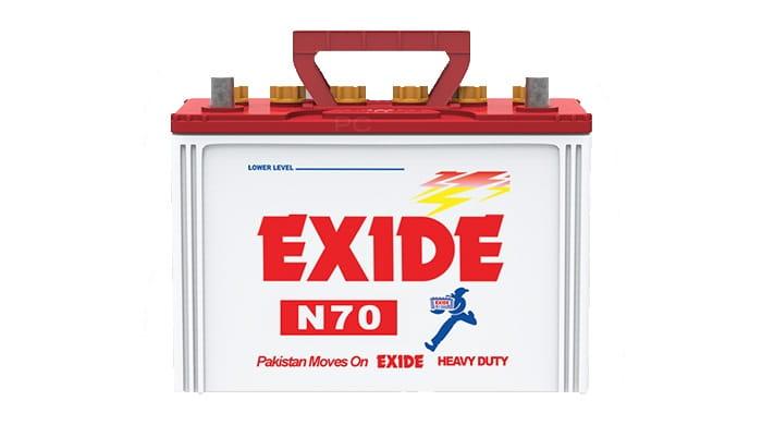 Exide N70 Battery